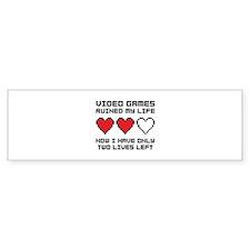 Video Games Bumper Sticker