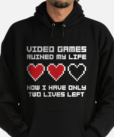 Video Games Hoodie (dark)