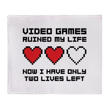 Video Games Throw Blanket