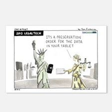 LTNY, LegalTech Postcards (Package of 8)