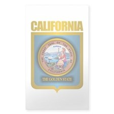 """California Gold"" Decal"