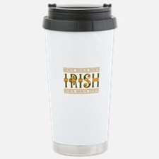 Kiss Me I'm Irish Travel Mug