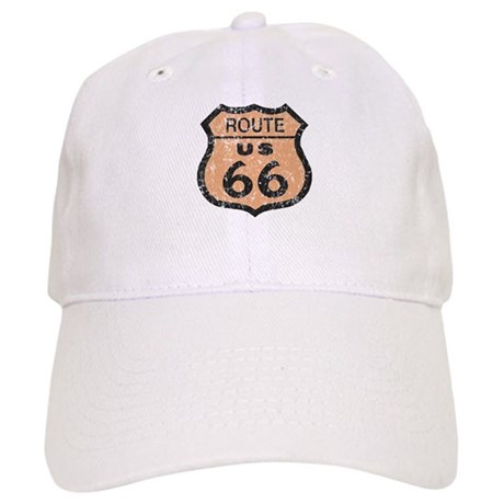 Retro Route 66 Road Sign Cap