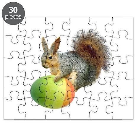Easter Squirrel Puzzle