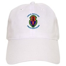 198th Military Police Battalion with Text Baseball Cap