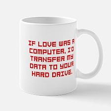 If love was a computer Mug
