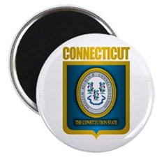 """Connecticut Gold"" Magnet"