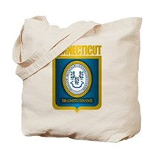 """""""Connecticut Gold"""" Tote Bag"""