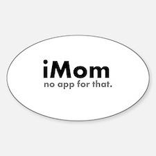 iMom Sticker (Oval)