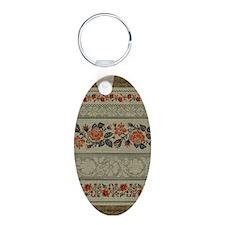 Traditional Ukrainian Embroid Keychains