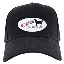 Buster the Black Lab Baseball Hat