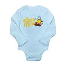 Bee Mine! Long Sleeve Infant Bodysuit