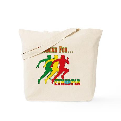 Ethiopia Running Tote Bag