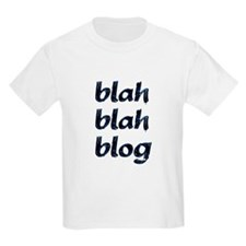 Blah Blah Blog Kids T-Shirt