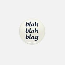 Blah Blah Blog Mini Button (10 pack)