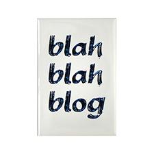 Blah Blah Blog Rectangle Magnet