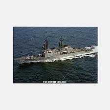 USS HEWITT Rectangle Magnet