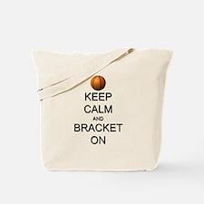 Keep Calm and Basketball Tote Bag