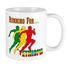 Ethiopia Running Mug