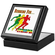 Ethiopia Running Keepsake Box