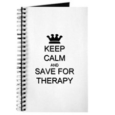 Keep Calm and Therapy Journal