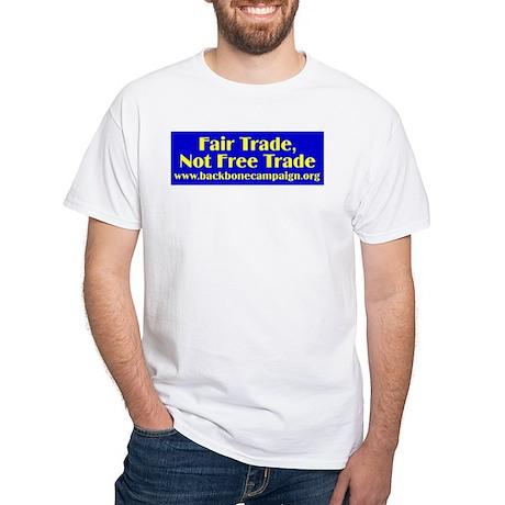 Fair Trade White T Shirt Fair Trade T Shirt