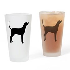 Coonhound Dog (#2) Drinking Glass