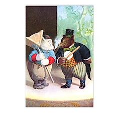 Roosevelt Bears As Actors Postcards (Package of 8)