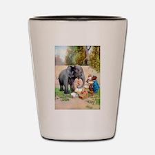 Roosevelt Bears and The Elephant Shot Glass