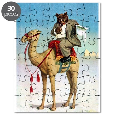 Roosevelt Bear Rides on a Camel Puzzle