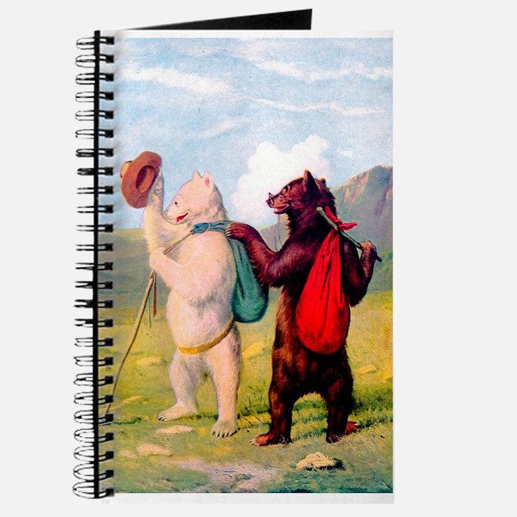 Roosevelt Bears Go Hiking Journal