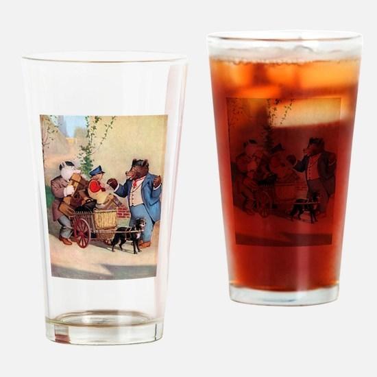 Roosevelt Bears and the Little Dutch Boy Drinking