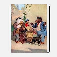 Roosevelt Bears and the Little Dutch Boy Mousepad