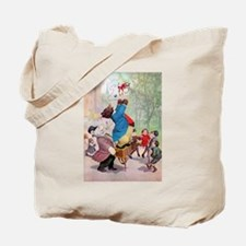 Roosevelt Bears as Organ Grinders Tote Bag