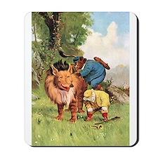 Roosevelt Bears Encounter a Lion Mousepad