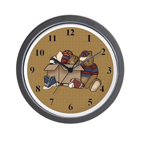The Toy Box Wall Clock