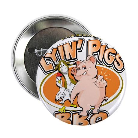 """lyin pigs bbq 2.25"""" Button (100 pack)"""
