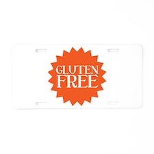 Gluten Free Aluminum License Plate