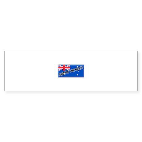 Aussie#4 Bumper Sticker