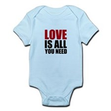 Love Is All You Need Infant Bodysuit