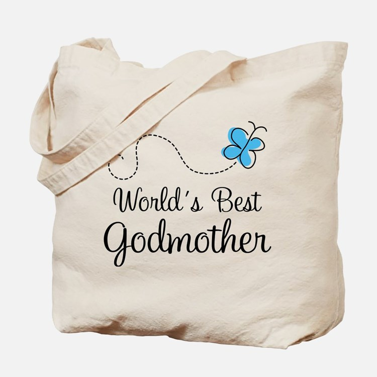 Godmother (World's Best) Gift Tote Bag