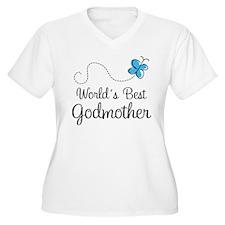Godmother (World's Best) Gift T-Shirt