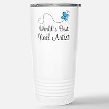 Nail Artist (World's Best) Gift Stainless Steel Tr