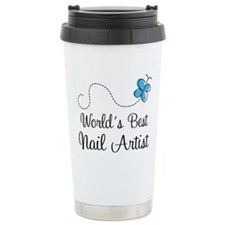 Nail Artist (World's Best) Gift Travel Mug