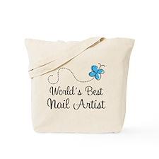 Nail Artist (World's Best) Gift Tote Bag