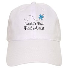 Nail Artist (World's Best) Gift Baseball Cap