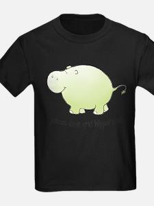 2-green_peace_love_hipponess T-Shirt