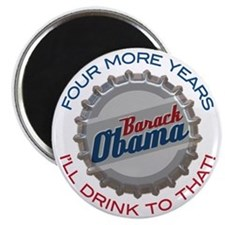 Obama Bottle Cap Magnet