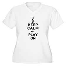 Keep Calm Treble Clef T-Shirt