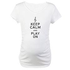 Keep Calm Treble Clef Shirt